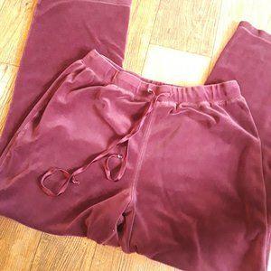 Robert Louis 1X Purple Velour Pants 💜